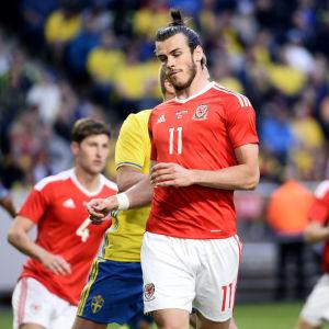 Gareth Bale i landslagströjan