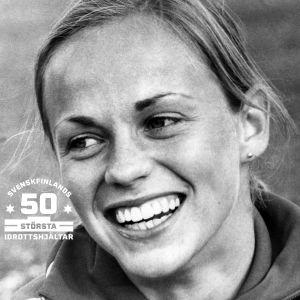 Mona-Lisa Pursiainen en av svenskfinlands 50 största idrottshjältar.