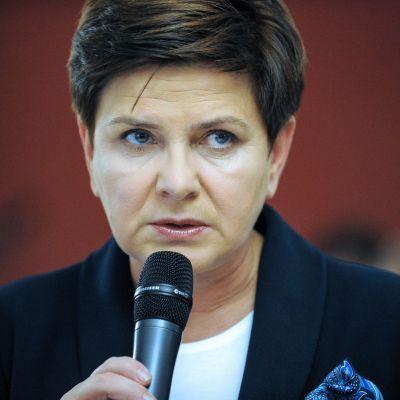 Polens premiärminister Beata Szydlo