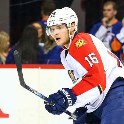 Aleksander Barkov spelar för Florida Panthers i NHL.
