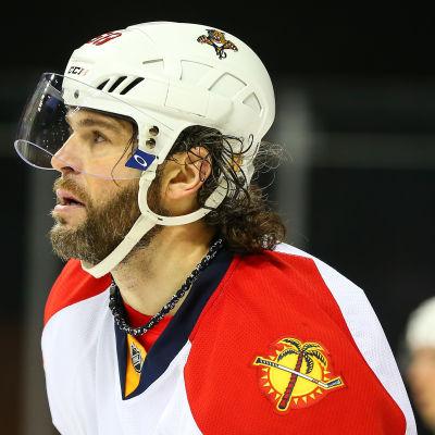 Jaromir Jagr på isen.