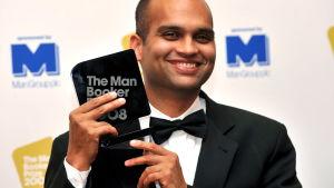 Man Booker palkittu intialainen kirjailija  Aravind Adiga