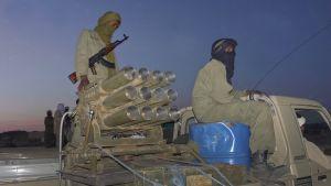 Tuaregkrigare i norra Mali.