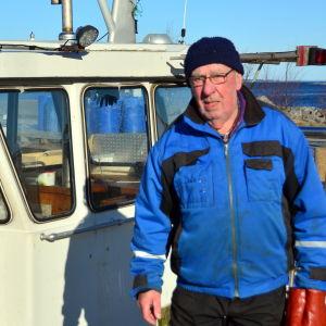 Harry Snygg och hans fiskebåt