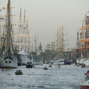 Tall ships race i Åbo 2003