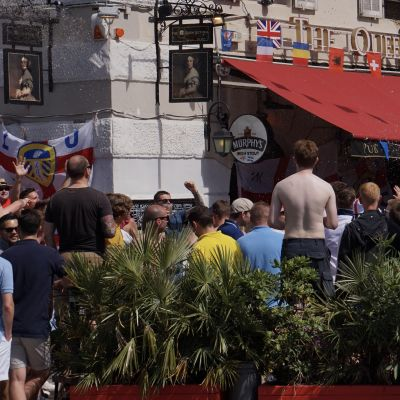 Engelska fans.