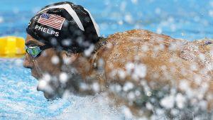 Michael Phelps är en amerikansk simmare.