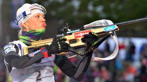 Kaisa Mäkäräinen i Oberhof säsongen 2013-14.
