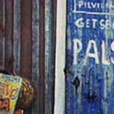 Kalervo Palsan kotimökin seinä
