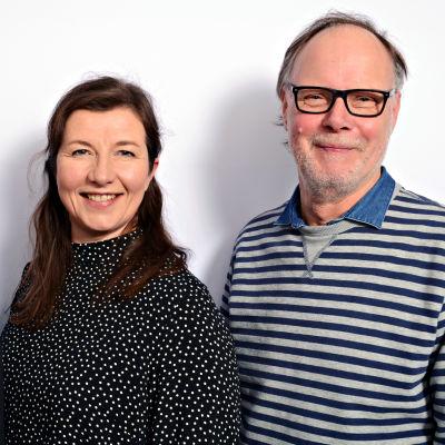Tero Liete, Kaija Kärkinen ja Jukka Haarma seisomassa