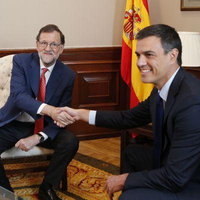 Rajoy ja Sanchez