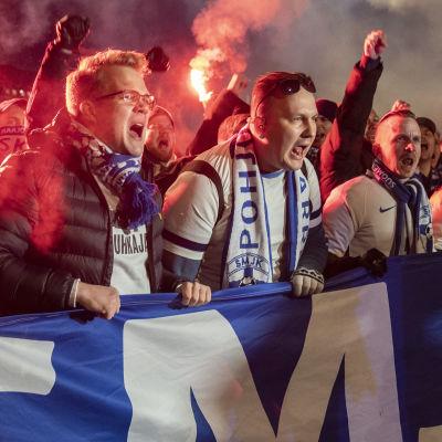Suomi- Liecteinstein / Em- jalkapallo / Helsinki 15.11.2019