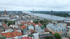 Vy över Riga
