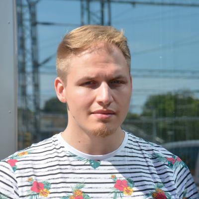 Profilbild på Oscar Hätinen.