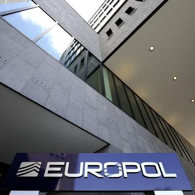 Europols högkvarter i Nederländerna.
