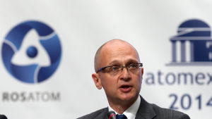 Rosatoms chef Sergej Kirijenko