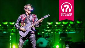 Sångaren och gitarristen Matthew Bellamy i Muse.