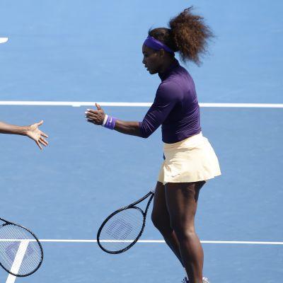 Venus och Serena Williams, januari 2013