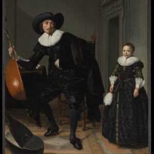 Thomas de Keyser, Alankomaat: Muusikko ja hänen tyttärensä, 1629