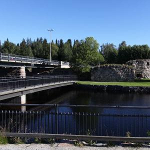 Kajaanin linna ja silta
