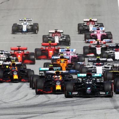 Formel 1-start
