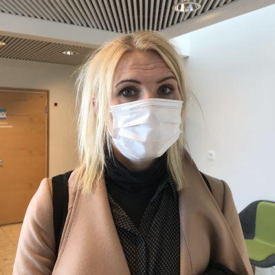 Marina Kinnunen, direktör för Vasa sjukvårdsdistrikt.