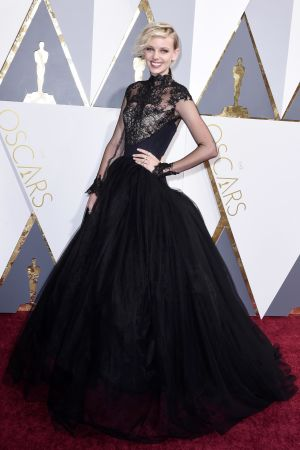 Dorith Mous på Oscarsgalan 2016.