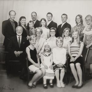 Kari Raivion perhekuva