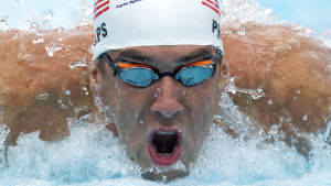 Michael Phelps satsar på att vara i slag vid OS i Rio.