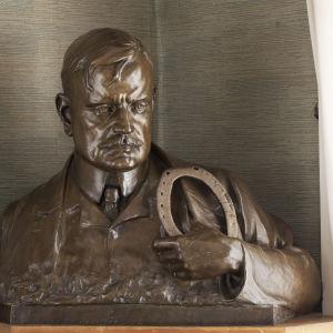 John Munsterhjelm: Porträtt av Jean Sibelius, 1909. Konstmuseet Ateneum, Antells samlingar.