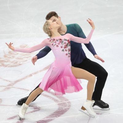 Juulia Turkkila och Matthias Versluis i EM