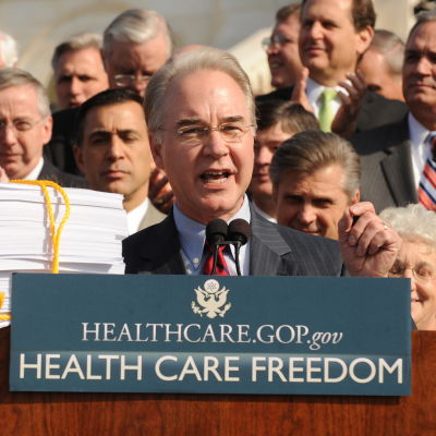 USA:s nye hälsovårdsminister Tom Price