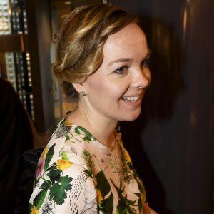 Centerpolitikern Katri Kulmuni i Lilla parlamentet i Helsingfors den 5 juni 2019.