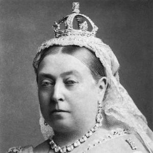 Drottning Victoria, fotograferad av Alexander Bassano 1882