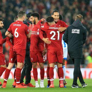 Liverpool vann enkelt över Huddersfield.