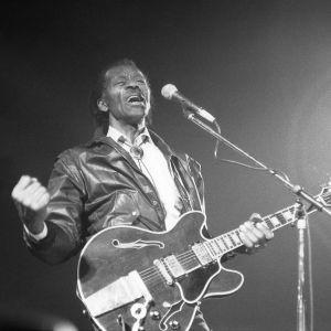 Chuck Berry under ett uppträdande 1992