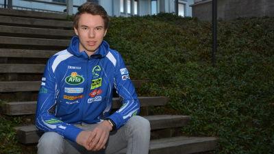 Benjamin Tulonen i Sportmåndag 23.11.2015