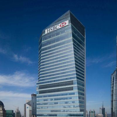 HSBC:s kontor i Shanghai