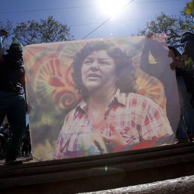 Berta Cáceres mördades för två år sedan.