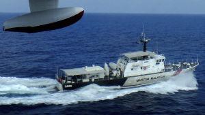 Malaysiskt spaningsfartyg