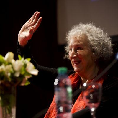 Den kanadensiska författaren Margaret Atwood.