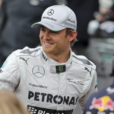 Nico Rosberg en vinnare i Monaco.