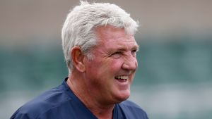 Steve Bruce tränade förra veckan Sheffield Wednesday.