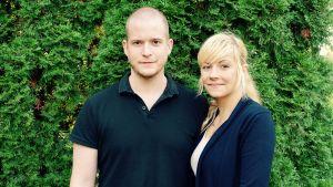 Erik Zakolski och Caroline Strindlund Åhström