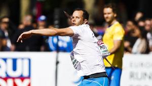Tero Pitkämäki, EM 2016.