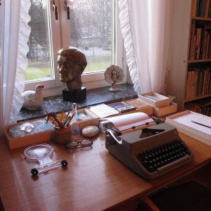 Astrid Lindgrens skrivbord