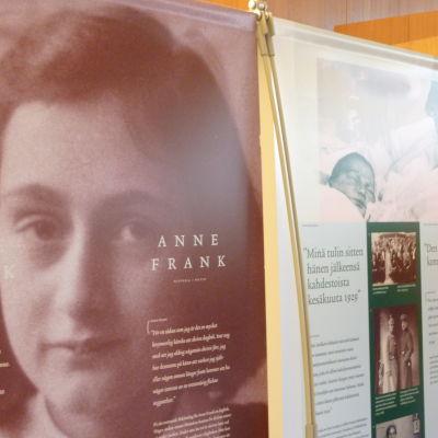 Anne Frank utställning.