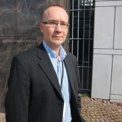 Pekka Vasara vid Centralkriminalpolisen