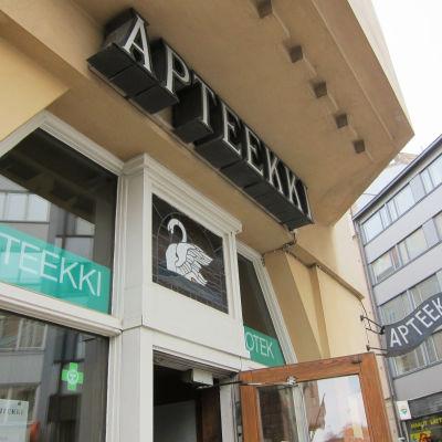 apoteket svanen på lappviksgatan i Helsingfors