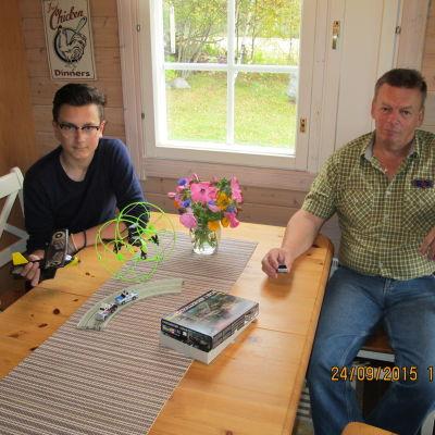 William Smeds och Bengt Smeds